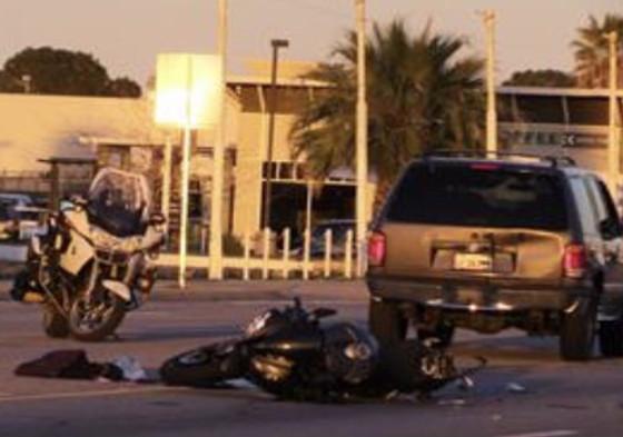 Avenue K Motorcycle Fatality