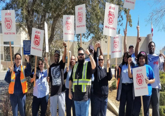 AVTA on Strike