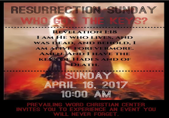 Ressurection Sunday Prevailing Word