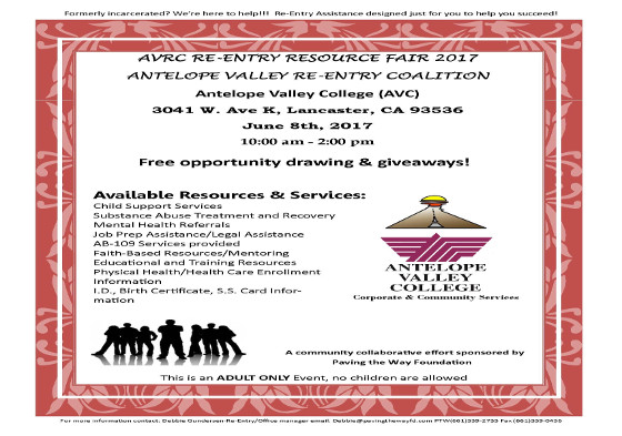 Antelope Valley Re-Entry Coalition