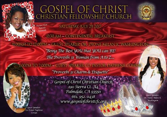 Pamela Edwards Gospel of Christ 2