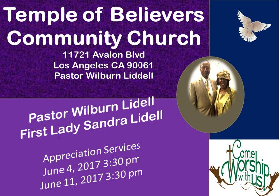 Temple of Believers Anniversary 2