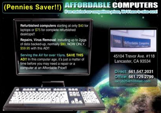 Affordable Computers