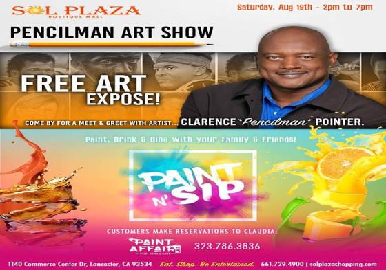 Pencilman Art Show
