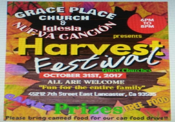 Grace Place Harvest Fest