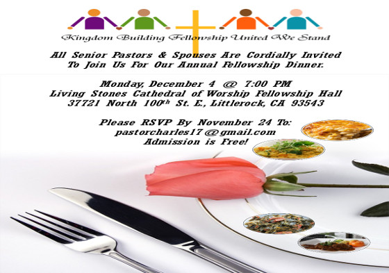 KBFUWS Fellowship Dinner