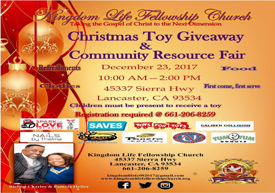 toy giveaway for christmas 2019 in los angeles