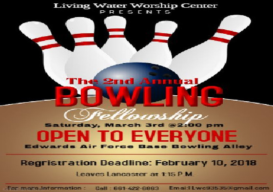 Bowling Fellowship March 3, 2018