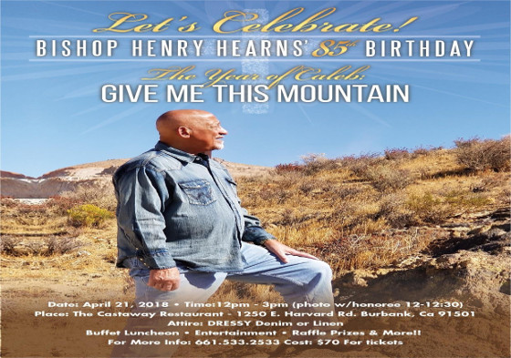 Bishop Henry Hearns 85th Birthday 2