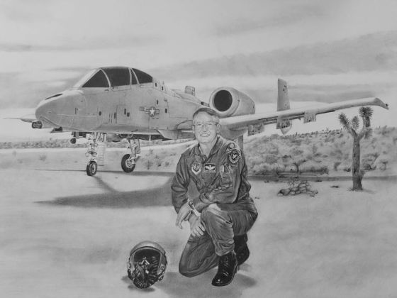 Pencileman 12 Airplane and Pilot
