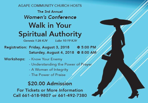 Agape Community 3rd Annual Women Conference 1