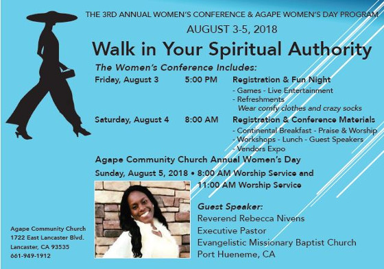 Agape Community 3rd Annual Women Conference 2