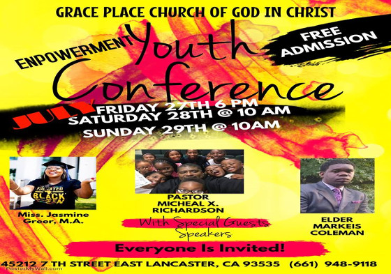 Grace Place Youth Conference