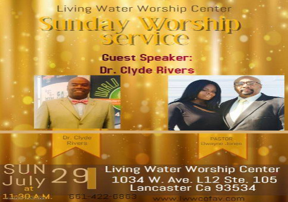 LWWC - Dr Clyde Rivers
