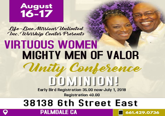 Virtuous Woman Unity Conference