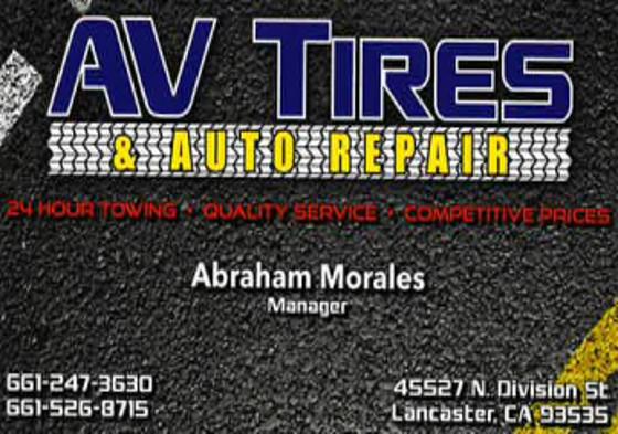 AV Tire 1