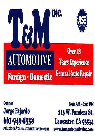 T & M Auto