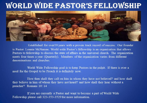 World Wide Pastor's Fellowship 2019 (2)