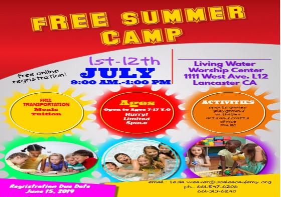 Summer Camp 2019 2